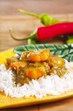 Curry del gamberetto Immagine Stock Libera da Diritti