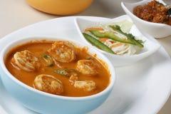 Curry del gamberetto di Goan Fotografie Stock Libere da Diritti
