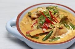 Curry del panang del pollo Fotografia Stock Libera da Diritti