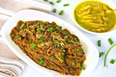 Curry del pesce del bengalese Immagine Stock Libera da Diritti