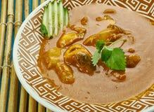 Curry del pesce di Alleppey Immagini Stock Libere da Diritti