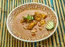 Curry del pesce di Alleppey Fotografie Stock