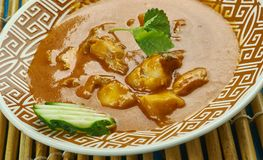 Curry del pesce di Alleppey Immagine Stock Libera da Diritti