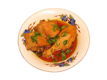 Curry del pollo Fotos de archivo