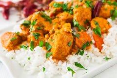 Curry del pollo immagine stock libera da diritti