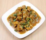Curry del pollo Fotografía de archivo