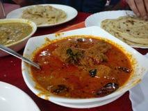 Curry del pollo de Anand Fotografía de archivo