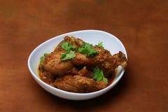 Curry del pollo de Kerala Foto de archivo libre de regalías