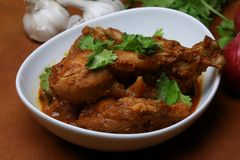 Curry del pollo de Kerala Fotografía de archivo