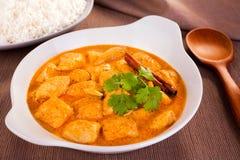 Curry del pollo de la mantequilla Imagen de archivo libre de regalías