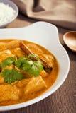 Curry del pollo de la mantequilla Imagenes de archivo