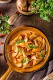 Curry delicioso hecho en casa Foto de archivo libre de regalías