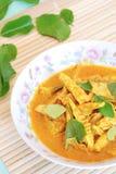 Curry della carne di maiale Fotografia Stock