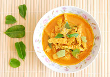 Curry della carne di maiale Fotografie Stock