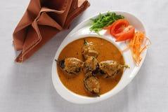 Curry della melanzana Fotografie Stock