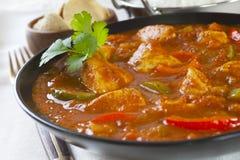 Curry di Jalfrezi del pollo Fotografia Stock Libera da Diritti