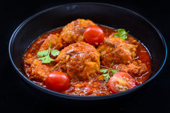 Curry di Kofta dell'indiano fotografia stock libera da diritti