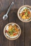 Curry di Massaman Fotografie Stock