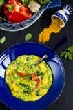 Curry di verdure Immagine Stock Libera da Diritti