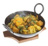 Curry di verdure indiano Immagini Stock Libere da Diritti