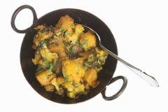 Curry di verdure indiano Fotografia Stock Libera da Diritti
