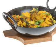 Curry di verdure indiano Immagini Stock