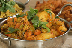 Curry di verdure misto Fotografia Stock