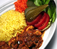 Curry dish Royalty Free Stock Photography