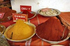 Curry e freddo Fotografia Stock Libera da Diritti