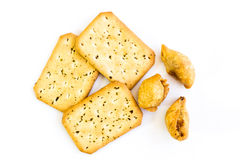 Curry'ego chleb i chuch Obrazy Stock