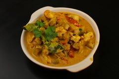Curry'ego Kurczak Zdjęcie Royalty Free