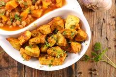 Curry'ego warzywo i kurczak zdjęcie royalty free
