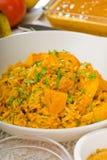 Curry'ego wołowiny ryż i grule Obrazy Royalty Free