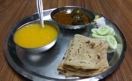 Curry för äggväxt royaltyfri fotografi