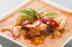 Curry för havsmat Royaltyfri Fotografi