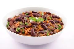 Curry för njureböna Arkivbilder