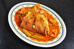 Curry Fish Head Royalty Free Stock Images