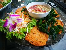 Curry frito comida Fotos de archivo