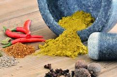 Curry Gewürz Stockfoto
