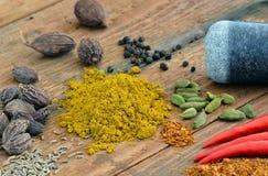 Curry Gewürz Lizenzfreie Stockbilder