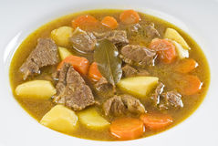 Curry Goat Meat Stew Stock Image