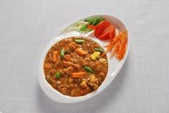 Curry indiano Fotografia Stock Libera da Diritti