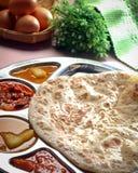 Curry indiano del pollo Fotografie Stock