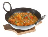 Curry indiano del pollo Immagine Stock