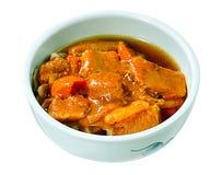 Curry japonés de la carne de vaca Imagen de archivo