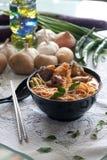 Curry Laksa Nudel Lizenzfreie Stockfotografie