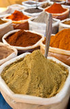 Curry in a market Stock Photography