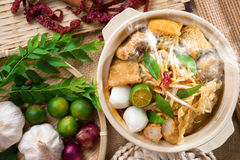 Curry mee Royalty Free Stock Image