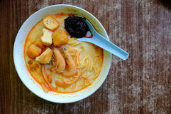 Curry mee Stock Photography