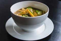 Curry misto del pesce e della verdura Fotografia Stock Libera da Diritti